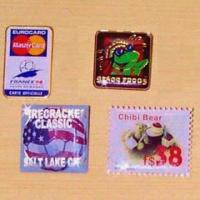 Quality Silk Screen (Laser) or Off-Set Printing Badges for sale