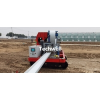 Quality Strawberry Growing Cassette Type Mobile Portable Gutter Making Machines for sale
