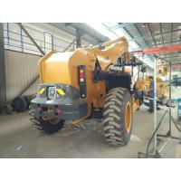 Quality 10 Ton Telescopic Telehandler Forklift 6290 X 2450 X 2725mm With Good Stability for sale