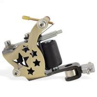 Quality carbon steel Permanent colorful tattoo machine with Manual Gun for sale