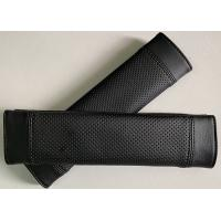 100% black cool seatbelt cover for car use, customized size and design