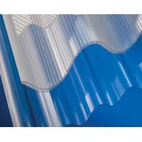 Quality Polycarbonate Corrugated Sheet / Plastic Roofing Panels / Transparent Roof Tiles for sale