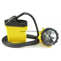 Quality Safety miner cap lamp, KL12LM corded lamp for sale