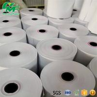 65gsm Thermal Credit Card Rolls , Bpa Free Credit Card Paper Neat End Surface