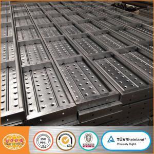 China Cuplock Scaffolding Steel Plank/Platform/Metal deck/Board on sale