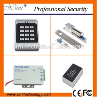 Quality New arrivals standalone access control system magnetic lock rfid access control with 12V power supply sets for sale