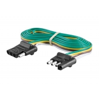 Quality 18AWG 4 Wire Flat Trailer Light Wiring Harness for sale