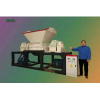 Quality PP / PE Waste Plastic Crusher , Plastic Recycling Shredder Machine Eco Friendly for sale