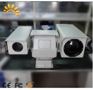 Quality Dual Sensor Long Range Thermal Imaging Camera / Military Grade Infrared Security Camera for sale