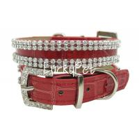 Quality 2012 new fashion Europ style leather pet collars for sale