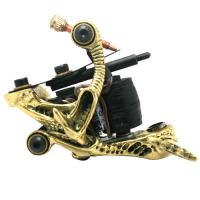 Quality Professional 10 wraps Brass Tattoo Machine for Body / Eyebrown / Lip for sale