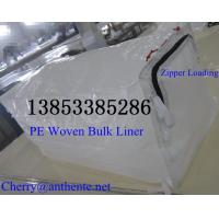 Quality Zipper loading HDPE Woven Container Liner for sale