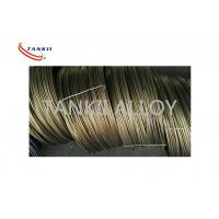 Quality High Temperature Heating Fe Cr Al Alloy Wire TK A-1 0.02 - 8.0mm Diameter for sale
