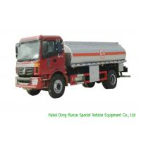 Quality FOTON 4X2 Fuel Delivery Tankers With PTO Pump 12000L High Capacity for sale