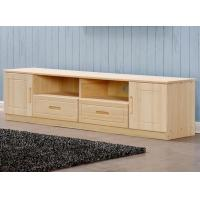 Quality Home Furniture TV Stand Storage / Bedroom TV Stand Pine Wood Eco Friendly for sale