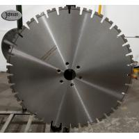 Buy cheap 600mm High Performance Laser Diamond Blades for Reinforced Concrete Cutting from wholesalers