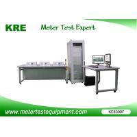Semi Automatic Energy Meter Testing Equipment Bar Code Input 3 - 6 Meter Positions