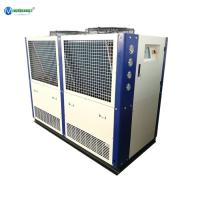 Quality 20HP 55KW Water Process Plant 380V Air Cooled Industrial Chiller Russia for sale