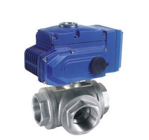 pneumatic actuator flange ball valve 3 way pneumatic air actuated ball valve