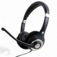 Quality Headset, Boom Mic with Silver Painting for sale