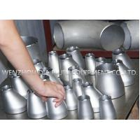 Quality Tp304 Concentric Pipe Reducer Stainless Steel Pipe Fittings , SS Tube Fitting for sale
