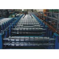 Quality 0 - 15m/min PLC Double Layer Roll Forming Machine For Two Roofing Profiles for sale