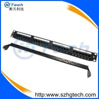 Quality UTP 24 Port Cat6 Patch Panel Krone/110 IDC for sale