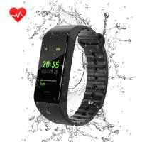 Quality New color smart bracelet watch blood pressure dynamic heart rate calls to remind waterproof Amazon for sale