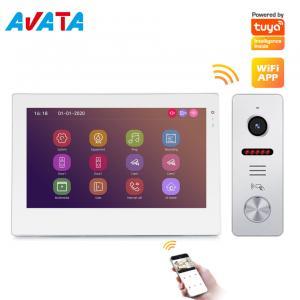 Quality High-End New Design Tuya Smart Video Doorphone Intercom System WiFi Video Doorbell for sale