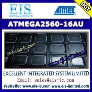 Quality ATMEGA2560-16AU - ATMEL - 8-bit Microcontroller with 64K/128K/256K Bytes In-System Program for sale
