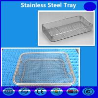 Quality 304 Stainless Steel Wire Sterilizing Baskets for sale