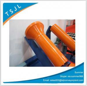 Buy cheap Conveyor Adjusting Idler Roller / Conveyor Friction Roller factory from wholesalers