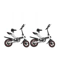 Quality 12 Inch Leisure Portable Foldable Electric Bicycle Aluminum Alloy Frame for sale