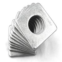 China Decorative Thin Steel Square Flat Washers Hardware Fasteners Type Widely Use on sale