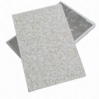 Quality Plaster Boards with >160N Strength, Sunken- and Moisture-proof, Environment-friendly for sale