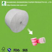 Quality 270+18g cups paper with single side PE for sale