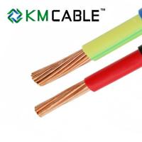 Buy cheap single core solid or stranded copper cable and wire 1mm 1.5mm 2.5mm PVC from wholesalers