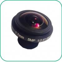 Quality 190 Degree Wide Angle Fish Eyes Lens 1/2.7'' Sensor Manual Focus / Fix Zoom for sale