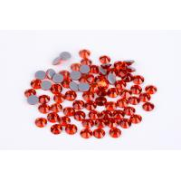 Quality 1.5mm - 10mm Large Loose Rhinestones , Heat Set Rhinestones 8 / 16 Facets for sale