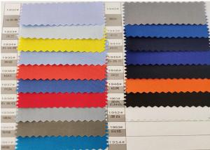 Quality 1cm Stripe Vertical 100% polyester Medium Weight Twill Anti Static Fabric for sale