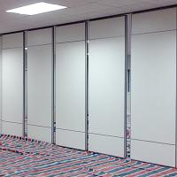 China Hotel Operable Soundproof PVC Partition Wall Flexible Aluminium Frame on sale
