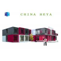 Quality High Performance Double Storey Prefab Houses Modular Sleeping Room Anti Impact for sale