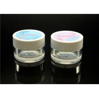 Quality 0.5 oz transparent empty Acrylic Cosmetic Containers for Eye Cream for sale