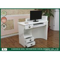 Quality Commercial  Store Front Counter Furniture mdf reception desk white for sale