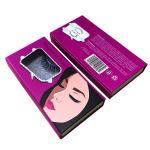 Quality luxury cardboard box with logo false eyelashes packaging box folding magnetic rigid gift box for sale