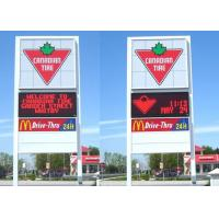 China Double Side High Brightness Advertising Screen Display7000nits Epistar Led Chip on sale