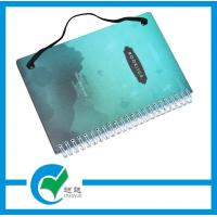 Quality Spiral Wire - O Hardcover Custom Printed Notebook With Elastic Cord For Private Diary Book for sale