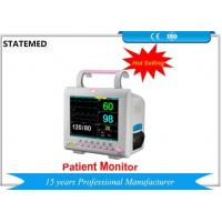 Quality Accurate Multi Parameter Patient Monitor , Portable Vital Signs Monitor For Ambulances for sale