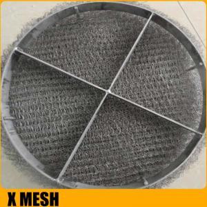 Quality Anti-Corrosion Knitted Wire Mesh/Mesh Mist Eliminator /  Stainless Steel YORK MESH Demister Mist Eliminator for sale