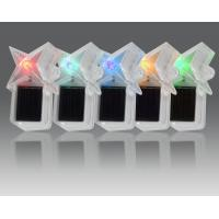 China Competitive Price Constant Or Flash Led Mini Solar Powered Landscape Light With Star Modeling And 5 Colors on sale